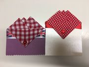 Gift Set of Two Hankies Red